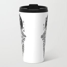 Space Wolf Travel Mug