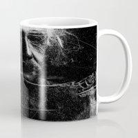 einstein Mugs featuring Albert Einstein by nicebleed