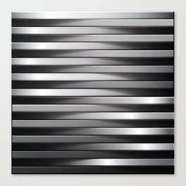 Abstract Line 3D Effect Canvas Print