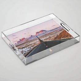Monument Valley Sunrise Acrylic Tray
