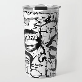 Weird Sensation - b&w Travel Mug
