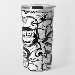 Weird Sensation - b&w Travel Mug