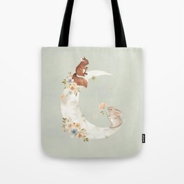 I love you to the moon and back Tote Bag