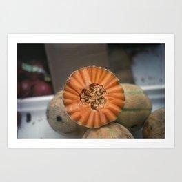 A Melon! Art Print