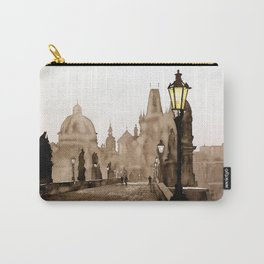 Charles Bridge in medieval city of Prague- Czech Republic. Carry-All Pouch