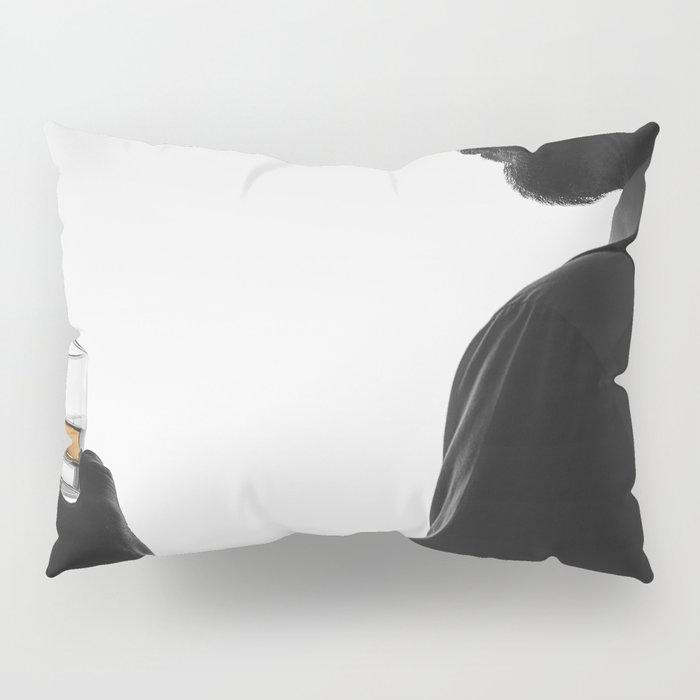 Gentleman with Scotch Pillow Sham