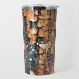 Peeling Paint Texture Travel Mug