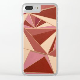 Warm Vibes Clear iPhone Case