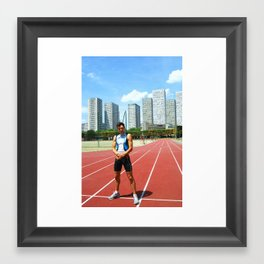 Stadium Framed Art Print