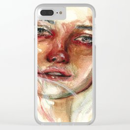 Mothers Love Clear iPhone Case