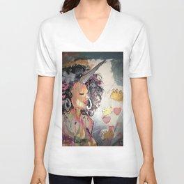 Black Unicorn: Sugar Oompa Loompa Unisex V-Neck