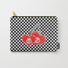 Heart Cherry Skullz Carry-All Pouch