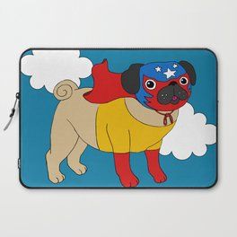 Lucha Libre Pug Laptop Sleeve