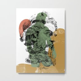 Neptune with NOODDOOD Metal Print