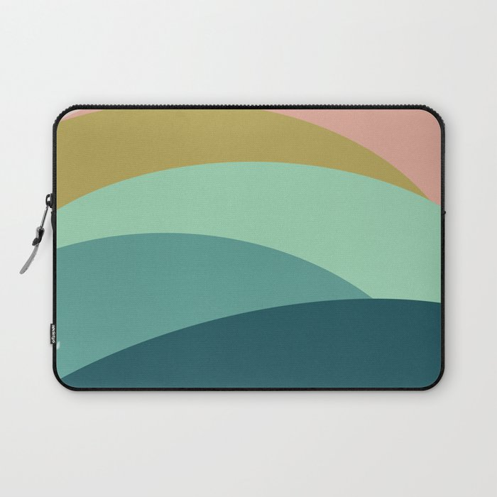 Abstract Mountains Laptop Sleeve