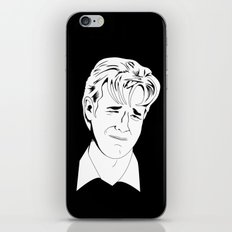 Crying Icon #1 - Dawson Leery - Black & White Variant iPhone & iPod Skin