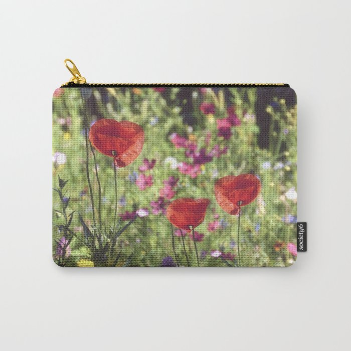 A floral spot on Earth Carry-All Pouch
