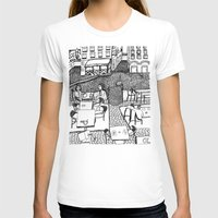 stockholm T-shirts featuring Stockholm by intermittentdreamscapes
