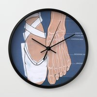 ballet Wall Clocks featuring ballet by Anne de Swart