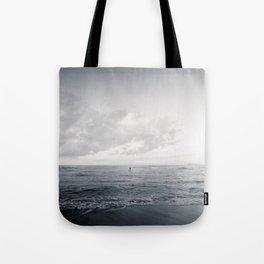 calm day ver.black Tote Bag