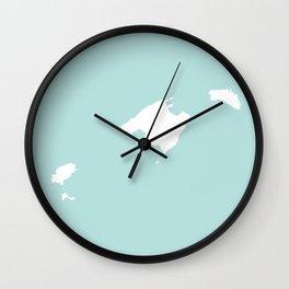 MALLORCA MENORCA IBIZA Wall Clock