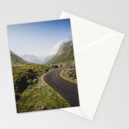 Winding Mountain Road Stationery Cards
