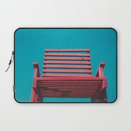 Red Chair in the Sky Laptop Sleeve
