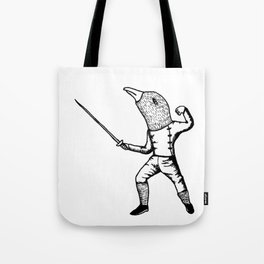Fincher-Fencer Tote Bag