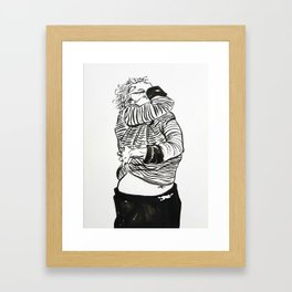 Internalised bureaucracy. Viva la revolucion! Framed Art Print