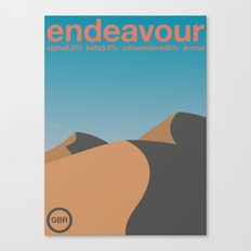 endeavour single hop Canvas Print