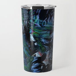 The Abstraction of Utopia and Oblivion  Travel Mug