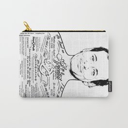Bill Murray Tattooe'd Ghostbuster Dr. Venkman Carry-All Pouch