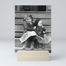 Young Babysitter - Alabama - By Lewis Hine 1911 Mini Art Print