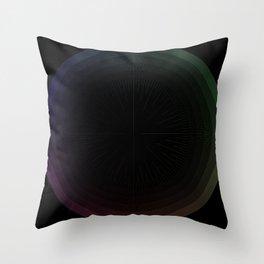 R Experiment 15 - fuzzy aim Throw Pillow