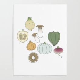 Vegetables (color) Poster