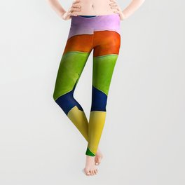 Colorful fishes Leggings