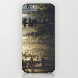 Sunrise Forest iPhone Case