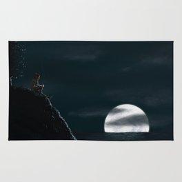 Pondering the Moon Rug