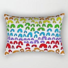 Rainbow Meta Rectangular Pillow