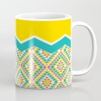 southwest Mugs featuring Southwest by Jacqueline Maldonado