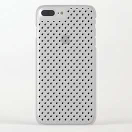 BLACK BOMB DIGGITYS ALL OVER SMALL Clear iPhone Case