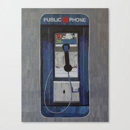 Payphone Canvas Print
