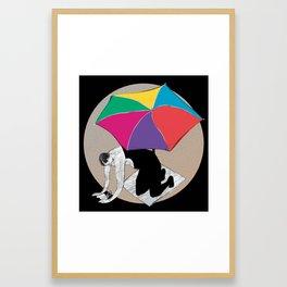 Horoscope: Cancer Framed Art Print