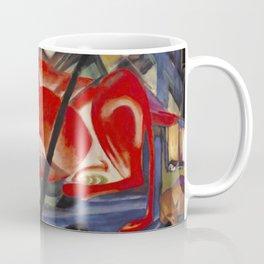 """Franz Marc """"The World Cow"""" Coffee Mug"""