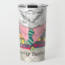 Otterly Fantastic on Dark Travel Mug