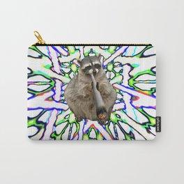 Raccoon Spliff Carry-All Pouch