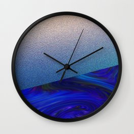 Sapphire and Steel Impressions Wall Clock