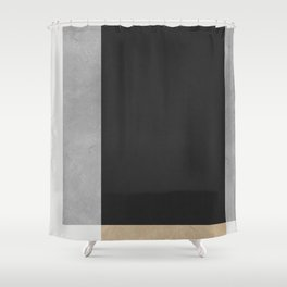 Modern geometry XIII Shower Curtain