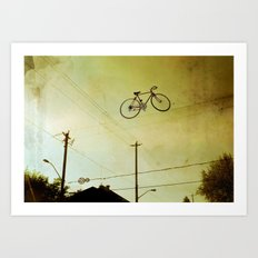 High Wire Art Print