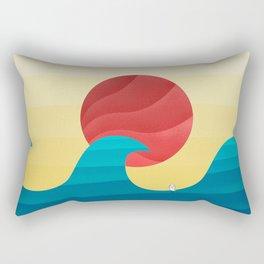 062 - The perfect summer wave Rectangular Pillow